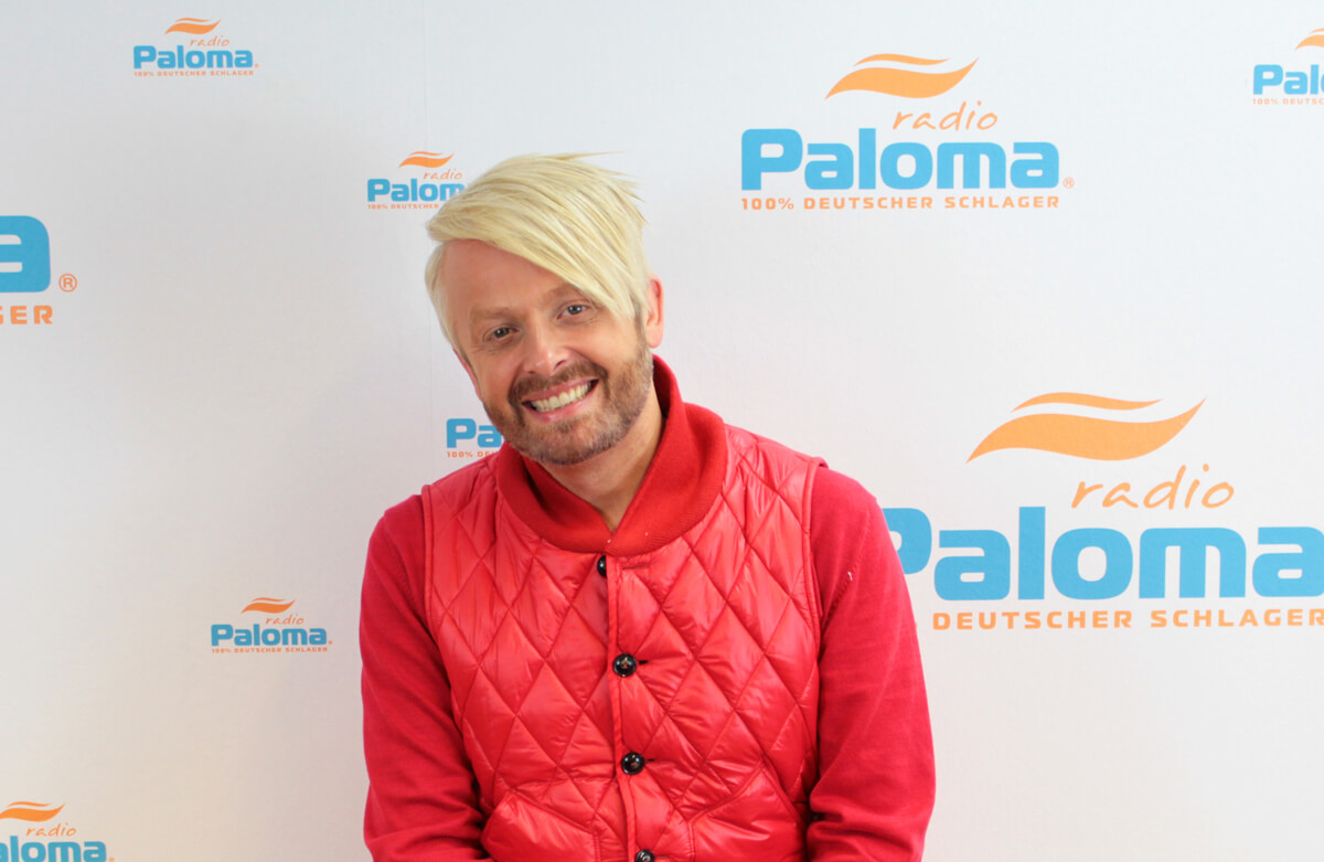 Ross Anthony bei Radio Paloma