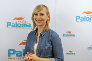 Franziska bei Radio Paloma