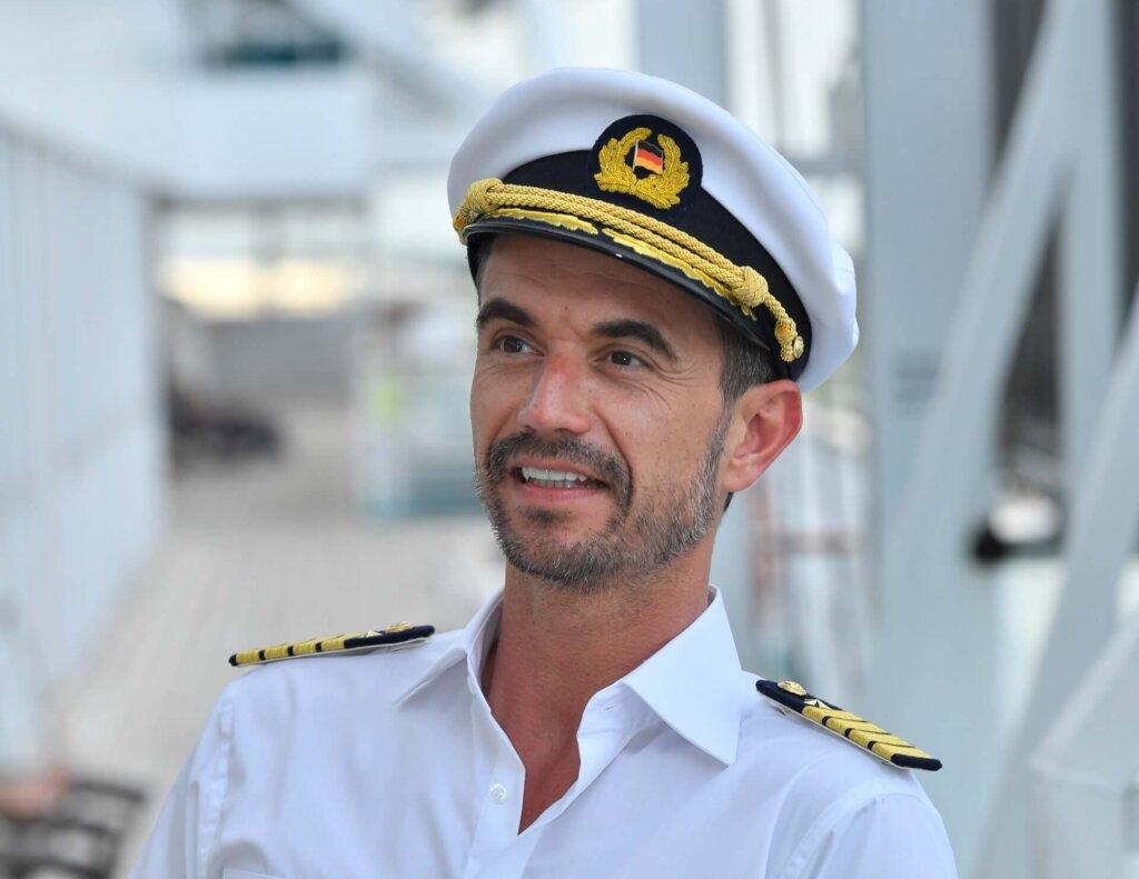 Florian Silbereisen in seiner Rolle als Kapitän Max Parger.