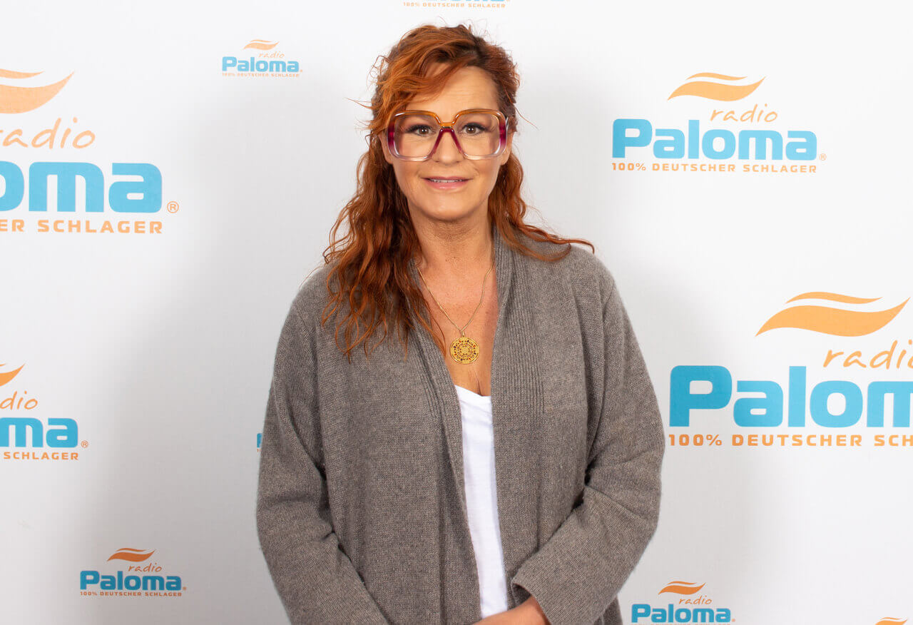 Andrea Berg (Mosaik Tour) bei Radio Paloma im Schlager-Interview