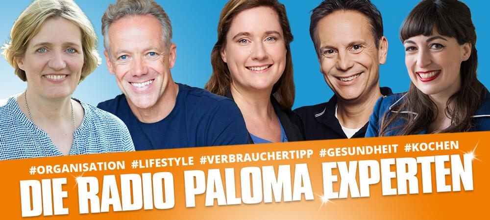 Die Radio Paloma Experten – jetzt Podcast Nachhören